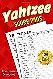 Yahtzee Score Pads: 125 Sheets for Scorekeeping