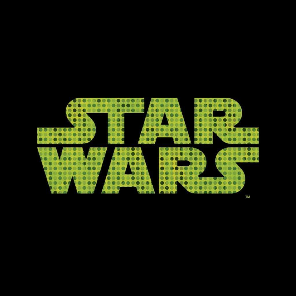 Star Wars Easter Logo Men's Varsity Jacket Black/White