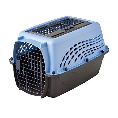 Petmate Medium 2-Door Top Load Pet Kennel Blue ()