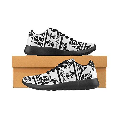Lightweight Womens Running Sports Shoes 7 Multi Jogging Trail Sneakers Walking InterestPrint Athletic Xfq7B