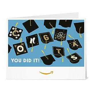 Amazon Gift Card - Print - Graduation Caps (B01DOPQD30) | Amazon price tracker / tracking, Amazon price history charts, Amazon price watches, Amazon price drop alerts