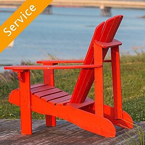 Adirondack Chair Assembly - Single Chair - Mayflower Wood