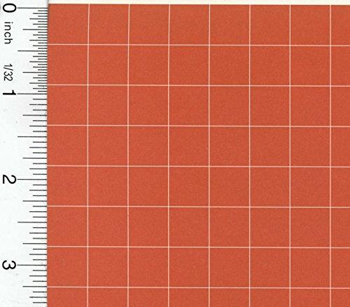 Buy dollhouse red tile flooring