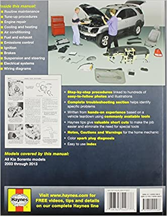 cheap kia sorento 2003-2013 repair manual (haynes automotive repair manuals)