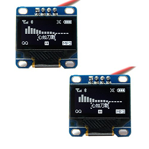 Amazon.com - [Pack of 2] 128x64 0.96 inch OLED Display Module For Arduino I2C communication