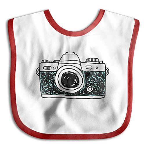 Oh Snap Camera I Shoot People Funny Baby Bibs Burp Infant Cloths Drool Toddler Teething Soft Absorbent