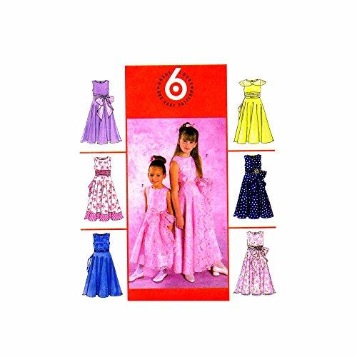 easy patterns for long dresses - 6