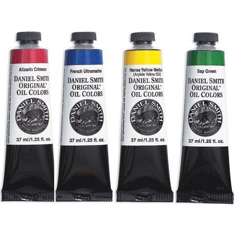 Daniel Smith Original Oil Color 37ml Paint Tube, Yellow Ochre Light