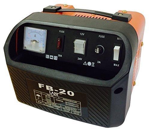 KFZ Batterieladegerät 12V / 24V für Motorrad und Auto Batterien mit 20 - 225 Ah