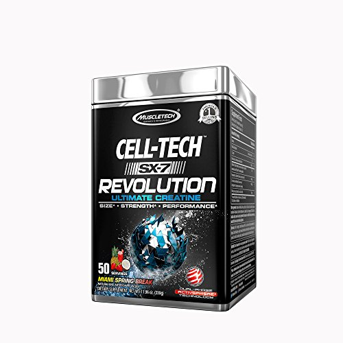 MuscleTech Cell-Tech SX-7 Revolution - Miami Spring Break (Tech Muscletech Cell)