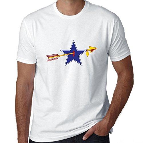 Classic RedSkin Vs Cowboy Rivalry Game Mens 100% Cotton T-Shirt -