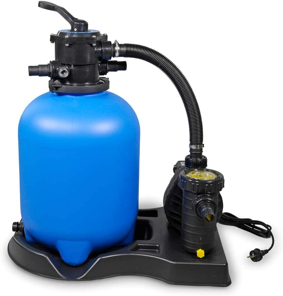 Sandfilter BRILLANT Ø 300 AquaPlus 4 POOL Total Schwimmbad Filteranlage bis 25m³
