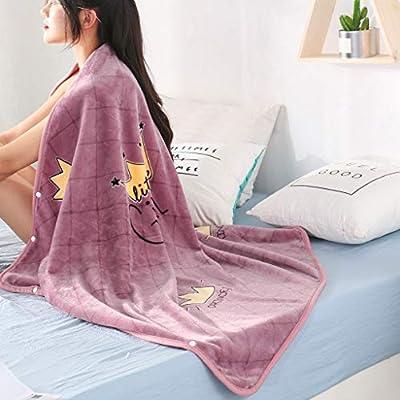 LIULIULIU?Multifunction Wearable Blanket,Lazy Super Soft Warm Comfy Plush TV Throws Wrap Robe Blanket