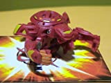 Bakugan Wave 4 GI Super Assault Red Pyrus Quakix Gorem 850G with DNA (Loose)