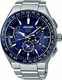 [ノベルティプレゼント][アストロン]ASTRON 腕時計 ASTRON GPSソーラー EXECUTIVE LINE デュアルタイム チタンモデル SBXB155 メンズ
