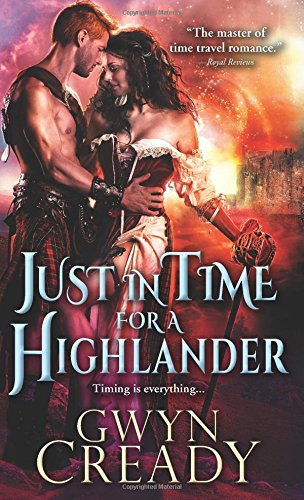 book cover of Just in Time for a Highlander