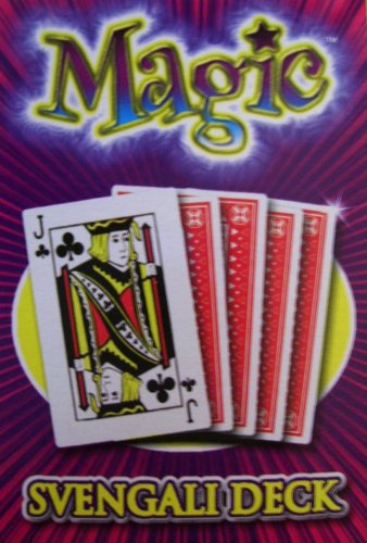 Svengali Card Deck Magic Trick Playing Cards by Click on Party