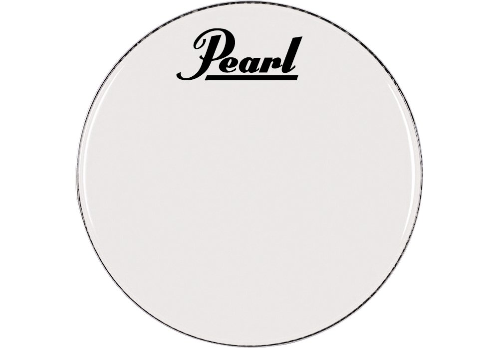 Pearl Logo Marching Bass Drum Heads 28 in. BR1228PL