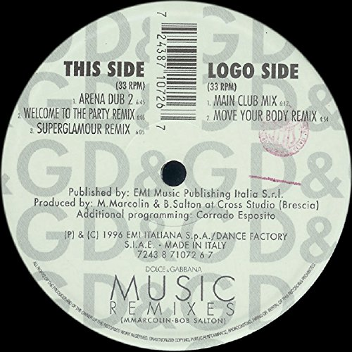Price comparison product image Music-Remixes (1996) / Vinyl Maxi Single [Vinyl 12'']