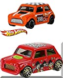 hot wheels mini van - Beatles Hot Wheels Morris Mini Cooper & Off-Road Mini #80 Car 2 Pack set - Exclusive Yellow Submarine Series in PROTECTIVE CASES