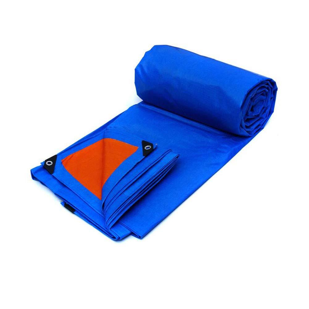 CJC ターポリン 155g/m² 色 青 PP/PE アウトドア プロテクター 防水 キャンプ (色 : T2, サイズ さいず : 12x8m) 12x8m T2 B07H72MX7Q