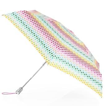 Totes Ladies Signature Basic Automatic Compact Umbrella,One Size,Multi