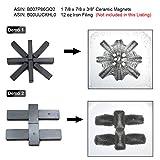 CMS Magnetics Domino Size Magnet - 1 7/8 x 7/8 x