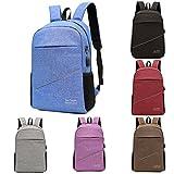 Travel Laptop Backpack,Realdo Durable Laptops Backpack with USB Charging Port,School Notebook Bag