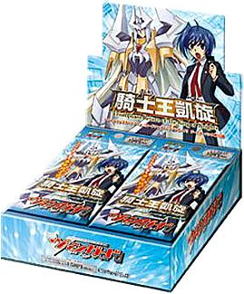 Cardfight Vanguard TCG Card Game English VGE-BT10 Triumphant Return of the King of Knights Booster Box - 30 packs / 5 cards (Of King Knights)