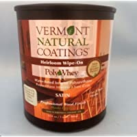 101151 Polywhey Heirloom Wipe-On Satin Quart by Vermont Natural Coatings