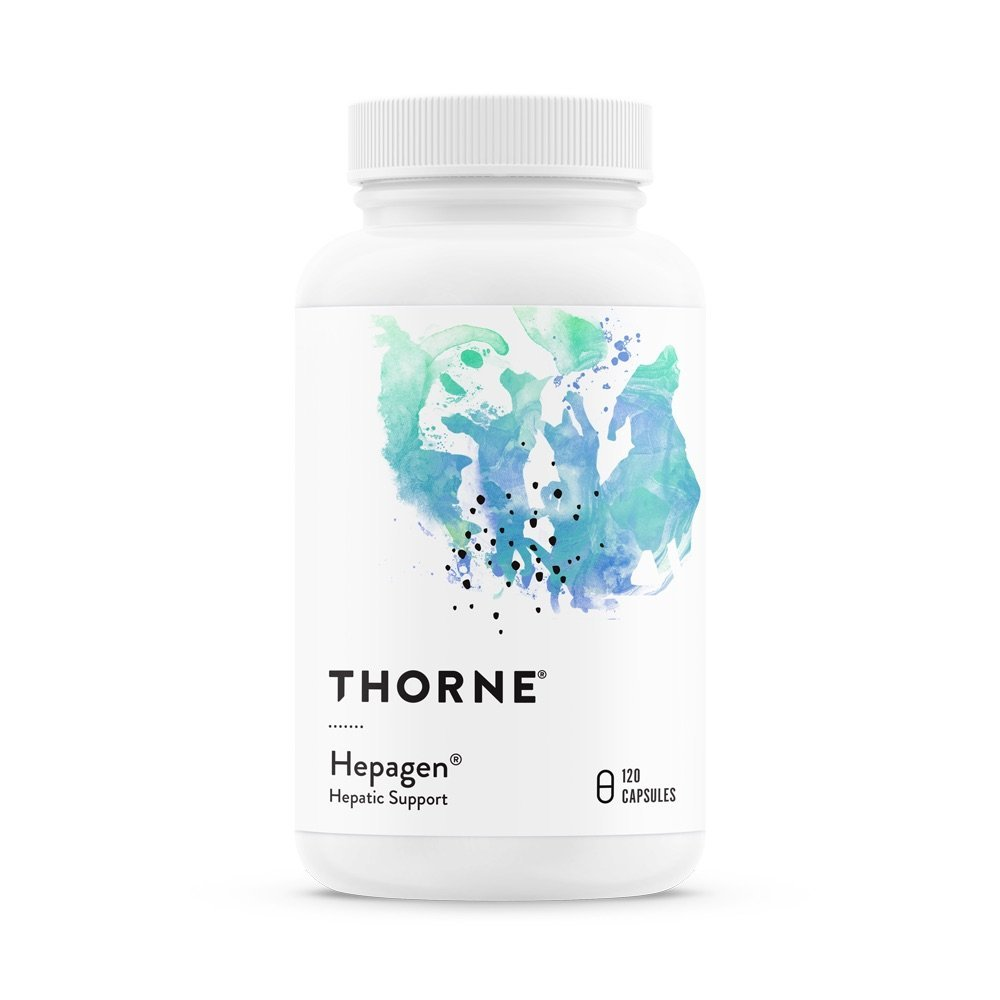 Thorne Research Veterinary - Hepagen - Hepatic Support with CurcuVET for Small Animals - 120 Capsules
