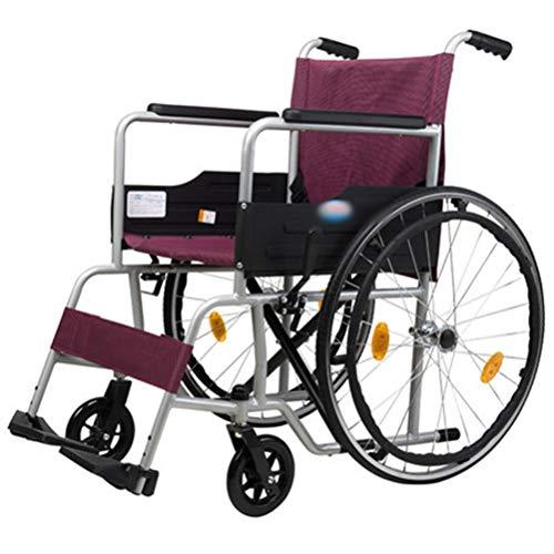 - Ho,ney Wheelchair Lightweight Folding Old Man Trolley Wheelchair Free Charging Portable Travel Manual Wheelchair -98749 Wheelchair