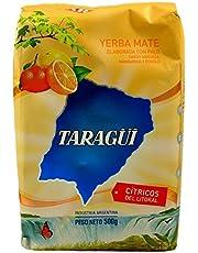 Taragui Yerba Mate with Orange, Lemon and Grapefruit Peel, 500-Gram Packages