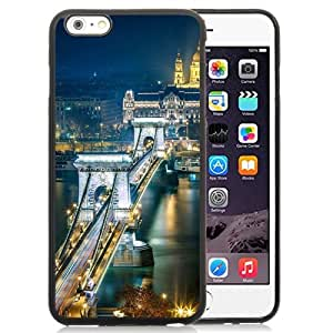 New Beautiful Custom Designed Cover Case For iPhone 6 Plus 5.5 Inch With Szechenyi Chain Bridge Budapest Phone Case
