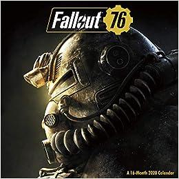 Bethesda Games 2020.Fallout 76 2020 Calendar Amazon Co Uk Bethesda Softworks