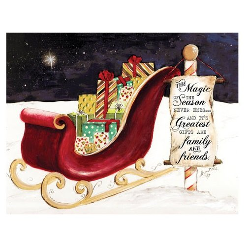Christmas Magic Insert for Jada Venia Light Box