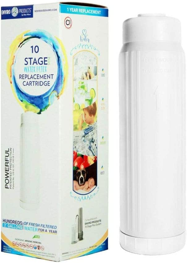 New Wave Enviro 10 Stage Plus Water Filter Replacement Cartridge: Home Improvement