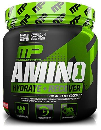 MusclePharm Amino 1 Sport Nutrition Powder, Cherry Limeade, 30 Servings (1 Amino Acid)