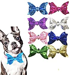 Bow Tie Accessories for Cat & Puppy Collar Grooming Pack