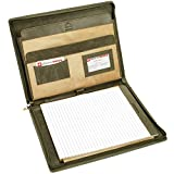 Alpine Swiss Genuine Leather Writing Pad Portfolio