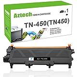 brother toner mfc 7360n - Aztech 1Pack TN450 High Yield Compatible Brother TN 450 TN420 TN-450 Toner Cartridge Replaces for Brother HL-2270DW HL 2280DW 2240 HL-2280DW MFC 7360N MFC-7860DW MFC-7460DN DCP 7065DN Toner Printer