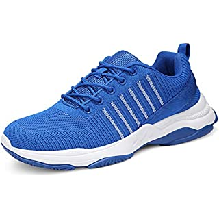 uubaris Men's Trail Running Cool Gym Shoes Lightweight Athletic Sneakers Best Men's Trail Running Shoes