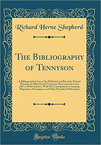 list of poems written by alfred lord tennyson