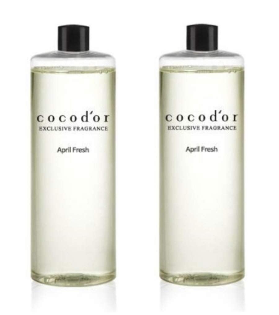 Cocod'or Reed Diffuser Oil Refill/April Fresh/Large Capacity 500ml X 2P by Cocod'or (Image #1)