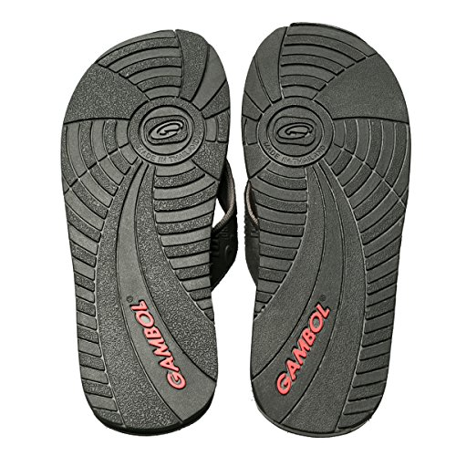 Gambol Mens Sandals Shoes - Zapp Style Gray