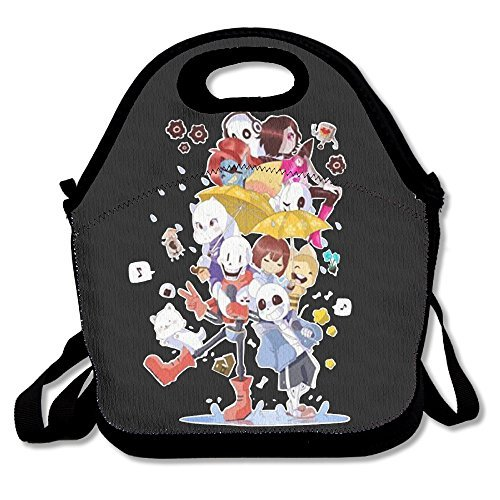Fox Customzied Mr.Potato 2016 New Fashion Characters Undertale Black Female Clothing Medium Multifunction Lunch Tote Bag With Adjustable Straps
