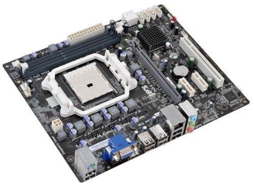 ECS Elitegroup (1.0A) FM1 AMD A55 (Hudson D2) HDMI Micro ATX AMD A55 DDR3 1800 Motherboard A55F-M2 (Motherboard E Series)