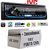 Einbauzubeh/ör Einbauset f/ür FIAT Stilo JUST SOUND best choice for caraudio Einbausatz Autoradio Radio BLAUPUNKT Santa Cruz 370 Bluetooth SD USB 6,2 TFT Display Touch