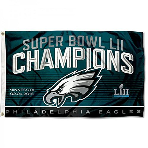 Super Bowl LII 52 Champs Flag 3ft x 5ft Flag / Banner Philly World Champs ()