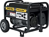 Portable Gas Generator - Steele Products SP-GG350 3,500 Watt 4-Cycle Gas Powered Portable Generator With Wheel Kit
